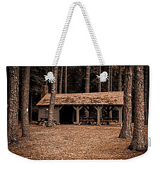 Shelter In The Woods Weekender Tote Bag