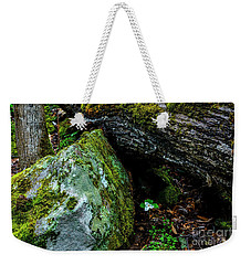 Sheltered By The Rock Weekender Tote Bag