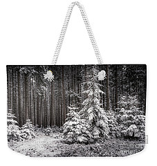 Sheltered Childhood Weekender Tote Bag by Hannes Cmarits