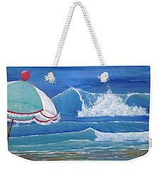 Sheltered Waves Weekender Tote Bag
