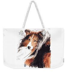 Sheltie Weekender Tote Bag