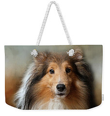 Sheltie Portrait Weekender Tote Bag