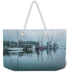 Shem Creek Fog Weekender Tote Bag