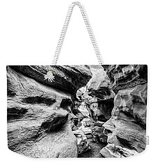 Shenandoah Caverns Slot Canyon Weekender Tote Bag by Kevin Blackburn
