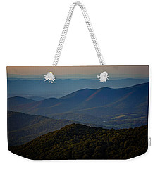Shenandoah Valley At Sunset Weekender Tote Bag by Rick Berk