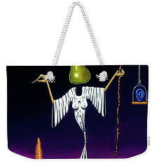 Weekender Tote Bag featuring the painting Shepherd Moon by Paxton Mobley