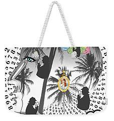 Sherlock's Intuition Weekender Tote Bag