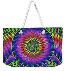 She's Like A Rainbow Weekender Tote Bag