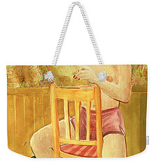 She's So Cute Weekender Tote Bag