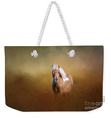 Shetland Pony Weekender Tote Bag by Marion Johnson