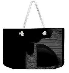 Shhh Weekender Tote Bag by ISAW Gallery