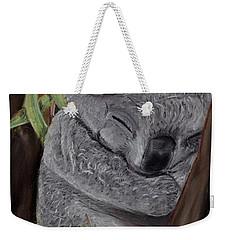 Shhhhh Koala Bear Sleeping Weekender Tote Bag