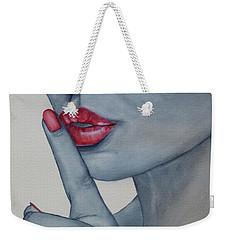 Shhh...whisper Weekender Tote Bag