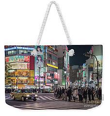 Shibuya Crossing, Tokyo Japan Weekender Tote Bag