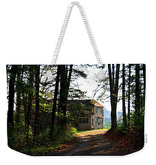Weekender Tote Bag featuring the photograph Shields Farm by Kathryn Meyer
