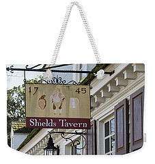 Shields Tavern Sign Weekender Tote Bag