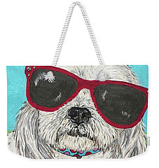 Shih Tzu Diva Weekender Tote Bag