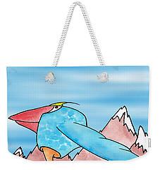 Shikoba Weekender Tote Bag by Uncle J's Monsters