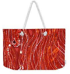 Shimmer Weekender Tote Bag