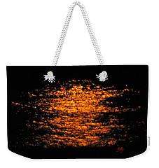 Shimmer Weekender Tote Bag by Linda Hollis