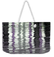 Weekender Tote Bag featuring the photograph Shimmer by Wendy Wilton