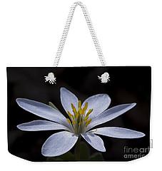 Shimmering Petals Weekender Tote Bag
