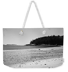 Weekender Tote Bag featuring the photograph Shimmering Sand by Corinne Rhode