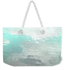 Weekender Tote Bag featuring the photograph Let The Water Wash Over You. by Rebecca Harman