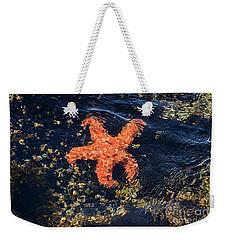 Shimmering Starfish Weekender Tote Bag