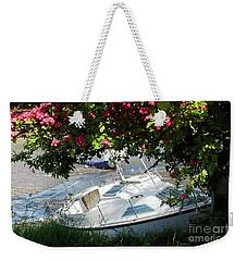 Shindilla Framed With Flowers Weekender Tote Bag