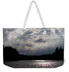 Weekender Tote Bag featuring the photograph Shine On by Angie Rea