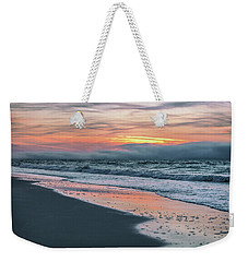 Weekender Tote Bag featuring the photograph Shine On Me Beach Sunrise  by John McGraw