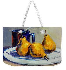Shiney Blue Mug Weekender Tote Bag