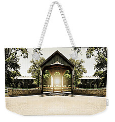 Shining Through Weekender Tote Bag