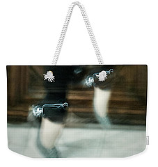 Weekender Tote Bag featuring the photograph Shining Shoes by Andrey  Godyaykin