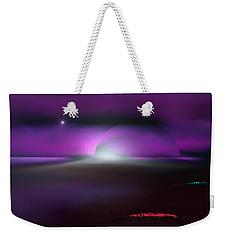 Weekender Tote Bag featuring the digital art Shining Star by Yul Olaivar