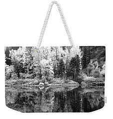 Shining Trees Weekender Tote Bag