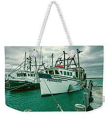 Shinnecock Fishing Vessels Weekender Tote Bag