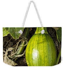 Weekender Tote Bag featuring the photograph Shiny Squash by Christi Kraft
