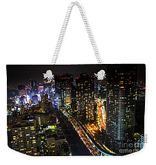 Shiodome Skyline Tokyo Weekender Tote Bag