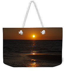 Ship Bottom Sunset Weekender Tote Bag by Elsa Marie Santoro