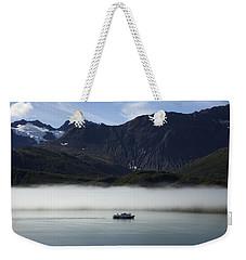 Ship In The Fog Weekender Tote Bag