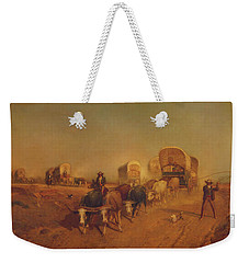 Ship Of The Plains Weekender Tote Bag