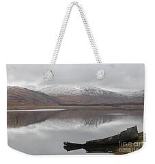 Ship Reck On Isle Of Mull Weekender Tote Bag