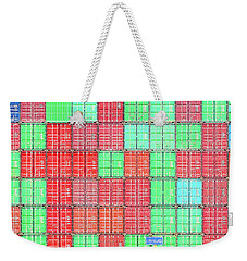 Shipping Cross Weekender Tote Bag