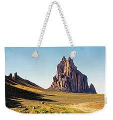 Shiprock 3 - North West New Mexico Weekender Tote Bag by Brian Harig