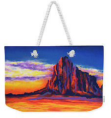 Shiprock Mountain Weekender Tote Bag