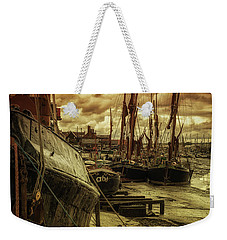 Ships From Essex Maldon Estuary Weekender Tote Bag