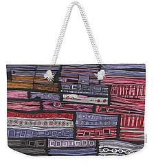 Shipwreck Weekender Tote Bag by Sandra Church