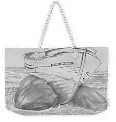 Shipwreck Weekender Tote Bag by Terry Frederick